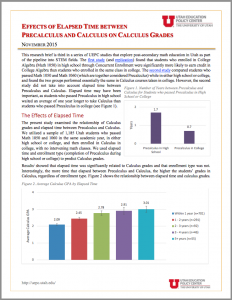 College & Career Readiness Archives - Utah Education Policy