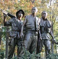 Vietnam Soldiers Statue/Memorial