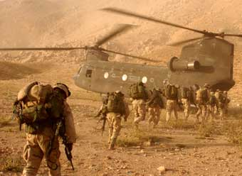 Military in Afghanistan