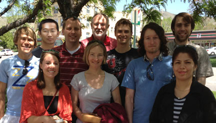 2012 Spring class photo