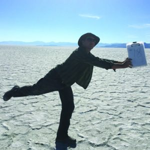 Evan Kipnis on Bonneville Salt Flats